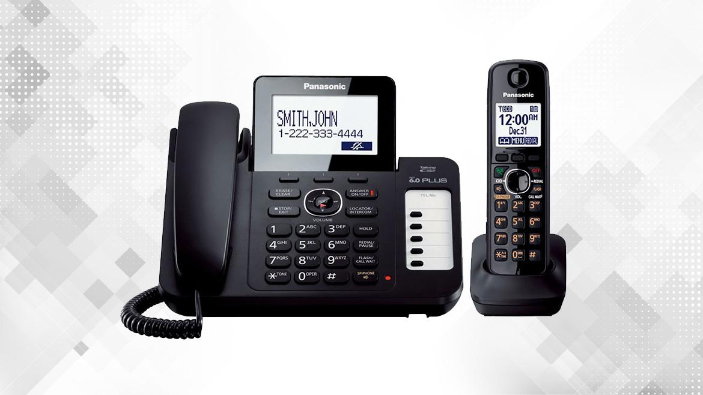 گوشی تلفن بیسیم پاناسونیک مدل KX-TG6671