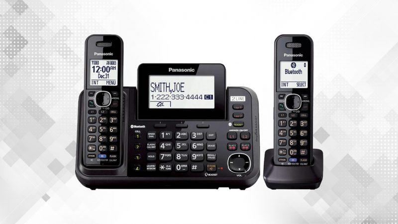 گوشی تلفن بیسیم پاناسونیک مدل KX-TG9542