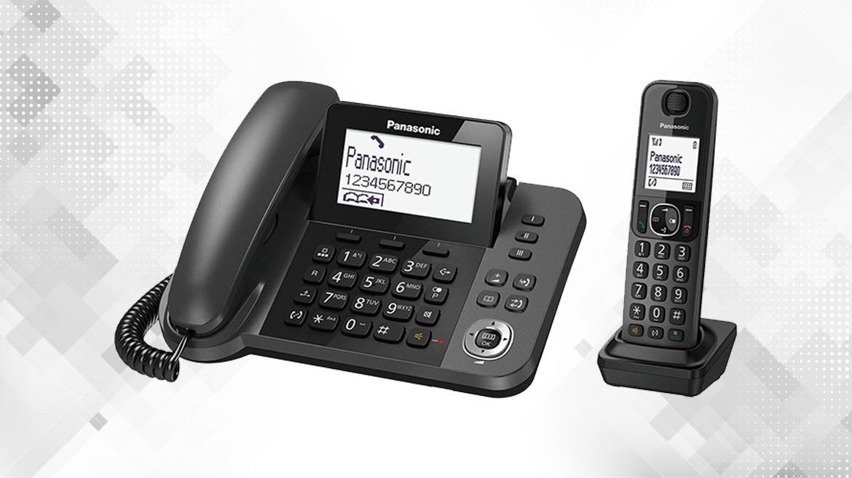 گوشی تلفن بیسیم پاناسونیک مدل KX-TGF310