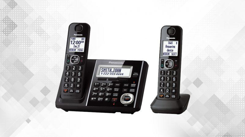 گوشی تلفن بیسیم پاناسونیک مدل KX-TGF342