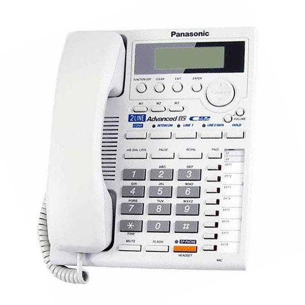 گوشی تلفن رومیزی پاناسونیک مدل Panasonic-KX-TS3282 | سفید