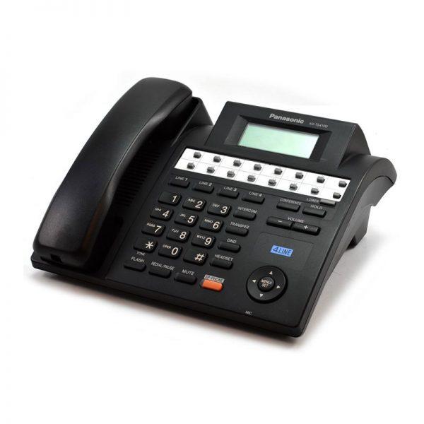 گوشی تلفن رومیزی پاناسونیک مدل KX-TS4100 رنگ مشکی