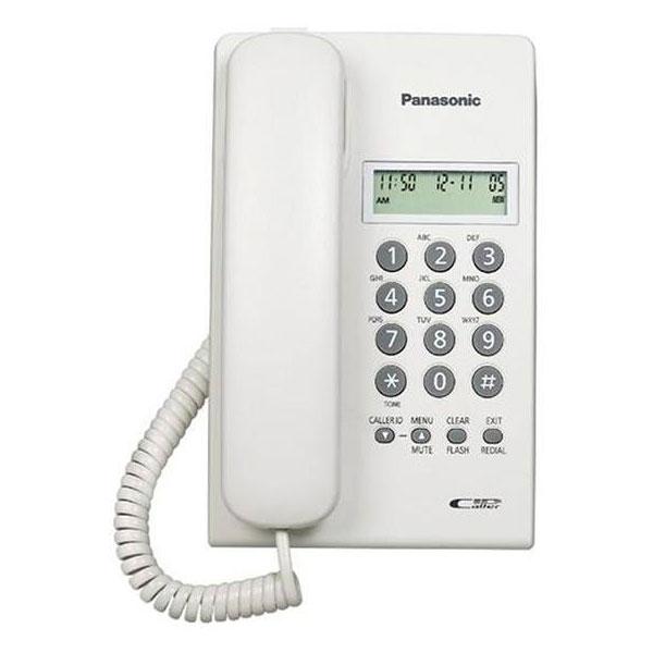 گوشی تلفن رومیزی پاناسونیک مدل Panasonic-KX-TSC60 | سفید