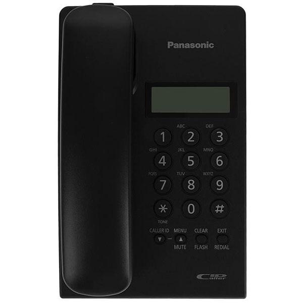 گوشی تلفن رومیزی پاناسونیک مدل Panasonic-KX-TSC60 | مشکی