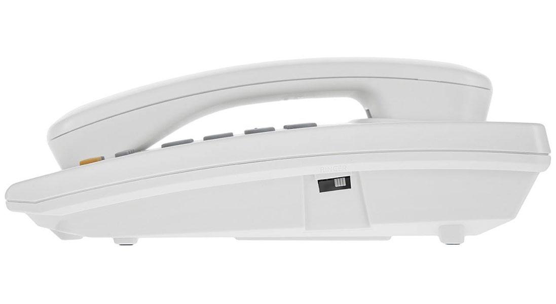 گوشی تلفن رومیزی پاناسونیک مدل Panasonic-KX-TSC62 | بخش کناری تلفن