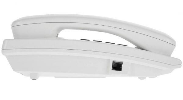 گوشی تلفن رومیزی پاناسونیک مدل Panasonic-KX-TSC62  رنگ سفید