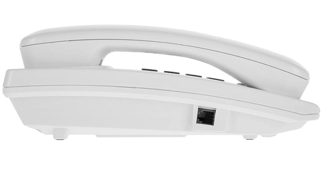 گوشی تلفن رومیزی پاناسونیک مدل Panasonic-KX-TSC62| رنگ سفید